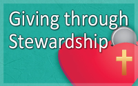 Giving through Stewardship